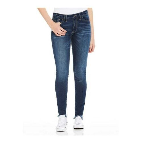 spodnie BENCH - Skinny Mid Worn Blue Dark Worn (DW1030) rozmiar: 27/32
