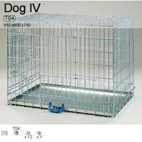 Inter zoo Inter-zoo dog 4 klatka metalowa dla dużego psa