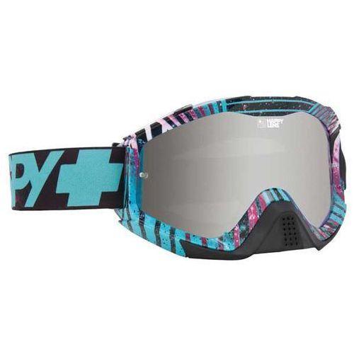 Spy Gogle narciarskie klutch infinite teal - happy bronze w/ silver mirror + clear afp