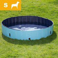 Bitiba Dog pool basen dla psa, s - Ø x wys.: 80 x 20 cm (z pokrywą)