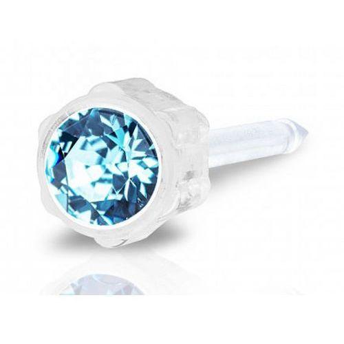 Blomdahl aquamarine 4 mm