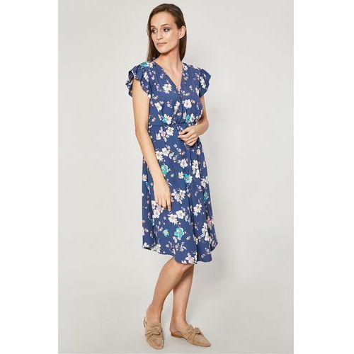 34936913c2 Zobacz ofertę Sukienka w kwiaty sybilla Click fashion