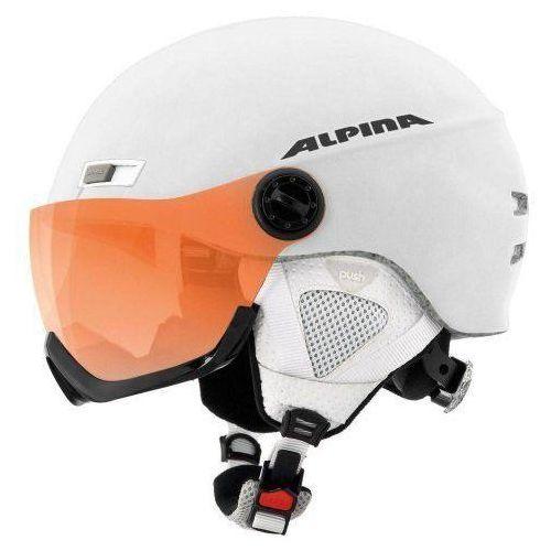 menga jv - kask narciarski z szybą wizjer r. 58-61 cm marki Alpina