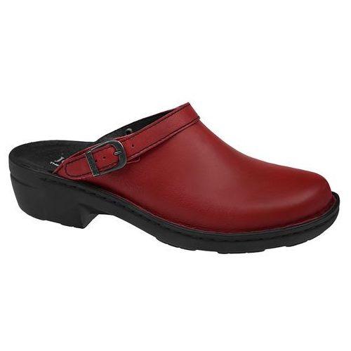 Klapki JOSEF SEIBEL 95920 23 380 Hibiscus Betsy - Bordowy ||Czerwony, kolor czerwony
