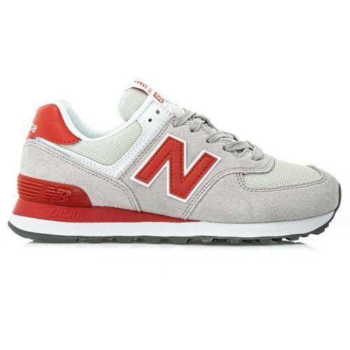 New Balance 574 (WL574WNB), kolor czerwony