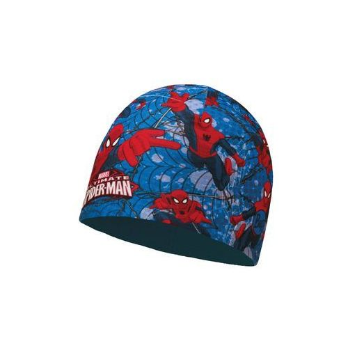 c393145f Czapka z Microfibry i Polaru Buff Junior Superheroes WARRIOR BL - WARRIOR  BL \ Niebieskiego,