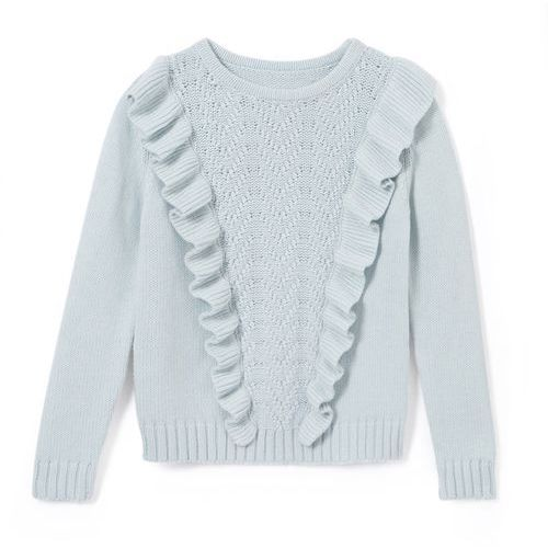 La redoute collections Sweter z falbankami, 3-12 lat