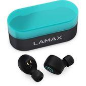 Słuchawki dokanałowe LAMAX Dots1 Czarno-turkusowy + DARMOWY TRANSPORT!