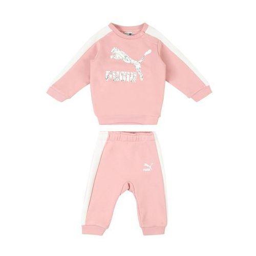 Puma strój do biegania 'minicats' różowy pudrowy / biały