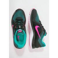 Nike Performance DUAL FUSION X 2 Obuwie do biegania treningowe black/pink blast/clear jade/white/reflect silver od Zalando.pl