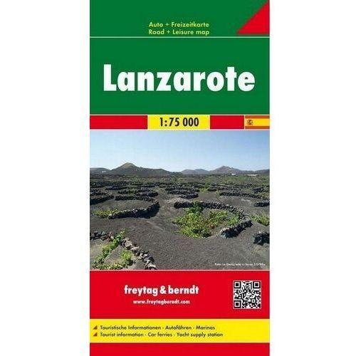 Lanzarote, 1:75 000 - Praca zbiorowa, praca zbiorowa
