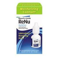 Bausch & lomb Renu lubricating & rewetting drops 8ml