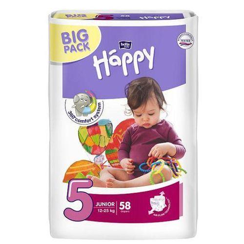 Pieluszki bella baby happy junior (5) 12-25 kg - 58szt. big pack Tzmo s.a