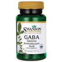 Kapsułki Swanson GABA 250mg 60 kaps.