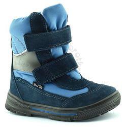Śniegowce dla dzieci z membraną Renbut 22-3216 - Niebieski ||Granatowy, kolor niebieski