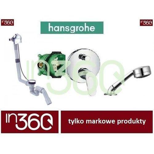 Hansgrohe Focus Zestaw wannowy podtynkowy z napełnianiem przez przelew (31945000 +2765205 +58113000 +01800180) chrom IN.000B509