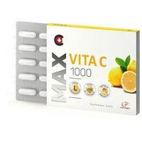 Kapsułki Max Vita C 1000, 30 kapsułek - Długi termin ważności! DARMOWA DOSTAWA od 39,99zł do 2kg!