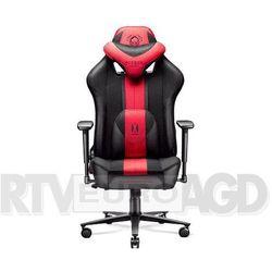 Diablo chairs x-player 2.0 (karmazynowo-antracytowy)