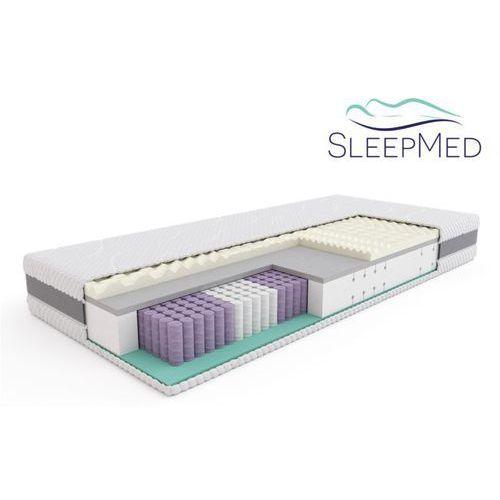 Materace sleepmed Sleepmed supreme - materac termoelastyczny, piankowy, rozmiar - 160x200 wyprzedaż, wysyłka gratis (5901595011622)