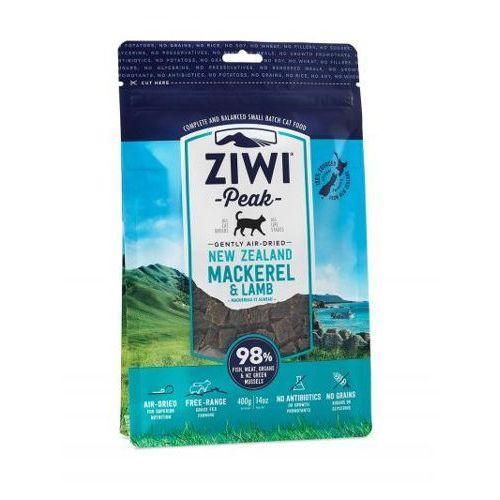 ZiwiPeak Daily Cat Cuisine sucha karma dla kotów z makrelą i jagnięciną 400g