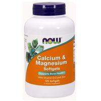 Kapsułki Now Foods Calcium & Magnesium - CAL-MAG Forte 120 kaps.