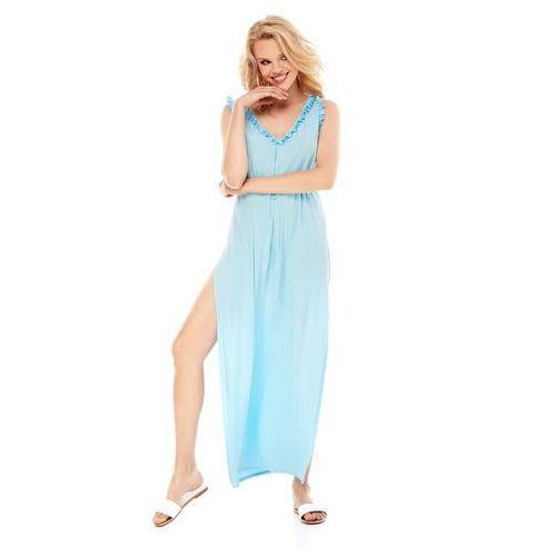 Sugarfree Sukienka arina w kolorze błękitnym