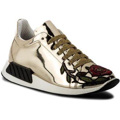 d3fc260186a72 Sneakersy HEGO'S MILANO - 1006 Specchio Platino Mezza Tigre, kolor żółty  eobuwie.pl