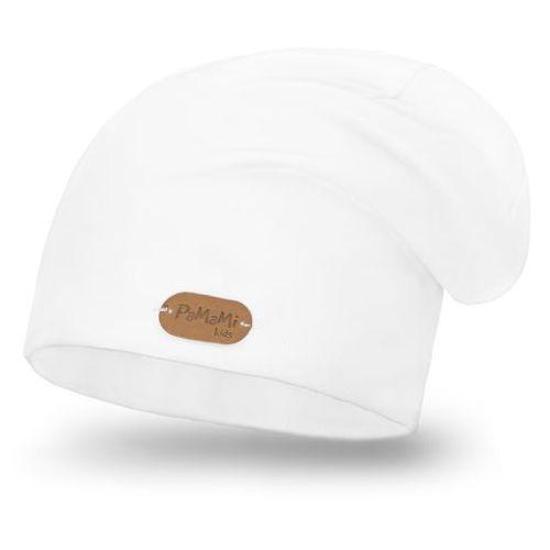 Pamami Wiosenna czapka - biały - biały (5902934042574)