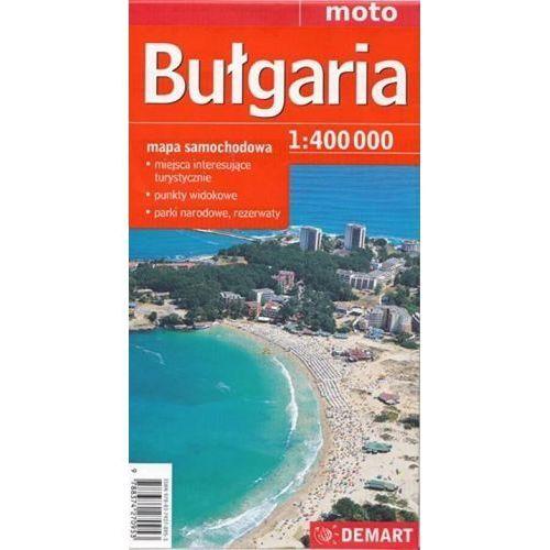 Bułgaria - mapa samochodowa 1:400 000, Demart