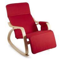 Oneconcept beutlin fotel bujany 68x90x97 cm (sxwxg) brzozowa sklejka multiplex czerwony