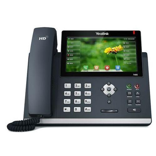 Yealink Telefon telefon ip (sip-t48s) darmowy odbiór w 21 miastach!