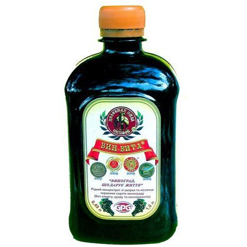 Remedium natura Vin vita płynny koncentrat z ciemnych odmian winogron - Ekstra rabat