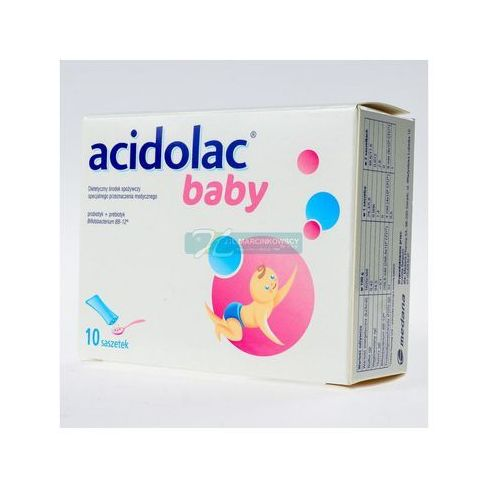 Acidolac Baby - 1,5 g 10 sasz.a 1,5g (5907529450017)