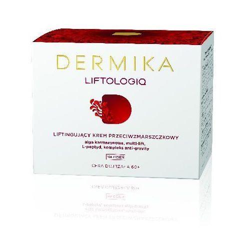 Dermika liftologiq 60+ krem liftingujšcy przeciwzmarszczkowy na dzień 50ml