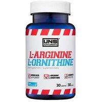 Suplement pompujący UNS L-Arginine & L-Ornithine 30 tab Najlepszy produkt