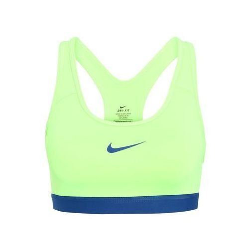 Nike Performance NEW CLASSIC Biustonosz sportowy ghost green/industrial blue