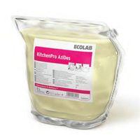 Kitchen pro azides - dezynfekcja i usuwanie kamienia ze stali nierdzewnej marki Ecolab