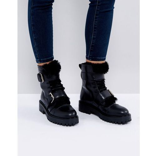 Depp Leather Mule Shoe