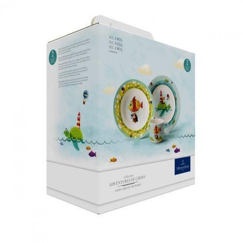 Villeroy & boch - chewy around the world zestaw dla dzieci ilość elementów: 3