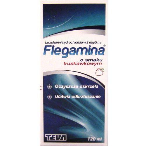 Syrop FLEGAMINA syrop o smaku truskawkowym 200 ml