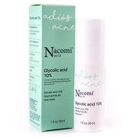 Nacomi next level adios acne serum z kwasem glikolowym 10% 30ml