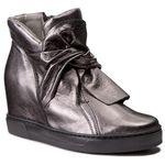 Sneakersy EKSBUT - 77-4645-I27-1G Nikiel
