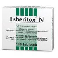 Tabletki ESBERITOX N, 100 TABLETEK