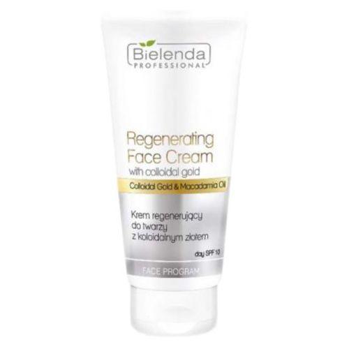 Regenerating face cream with gold krem regenerujący do twarzy z kolidalnym złotem spf 15 - 150 ml Bielenda professional