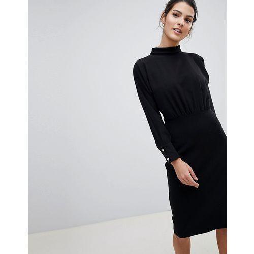 3ff7baf2cd Closet high neck simple pencil dress - black (Closet London) - sklep ...