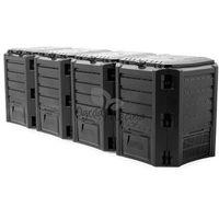 Kompostownik Module Compogreen czarny Prosperplast 1600l, IKSM1600C