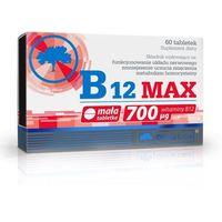 Tabletki Olimp Witamina B12 MAX 60 tabl. metabolizm homocysteiny 067648