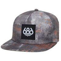 czapka z daszkiem 686 - Knockout Snapback Hat Reclaim (RECL)