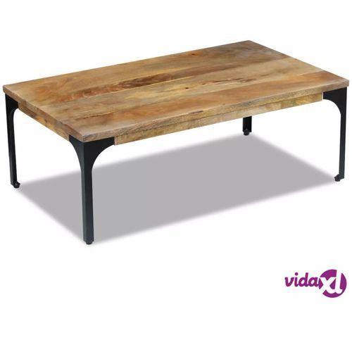 Stolik Kawowy Z Drewna Mango 100x60x35 Cm Vidaxl