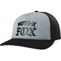 Fox czapka z daszkiem lady moto x heather graphite